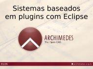 Sistemas baseados em plugins com Eclipse - USP