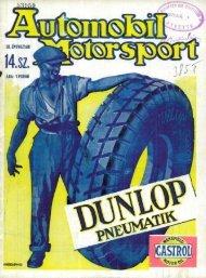 Automobil motorsport 1928 3. évfolyam 14. szám - EPA