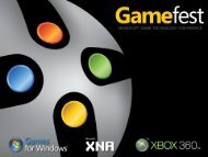 Developing Games For Xbox Live Arcade - MSN Games