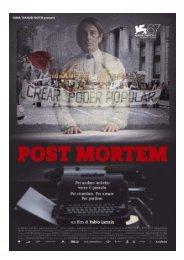 Scarica il pressbook completo di Post Mortem - Mymovies.it