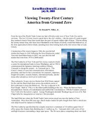 Viewing Twenty-First Century America from ... - Donald W. Miller