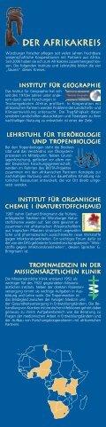 Stelen Broschüre.pmd - Afrikazentrum - Universität Würzburg - Seite 3