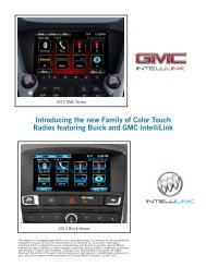 Introducing the new Family of Color Touch Radios featuring - eCarList