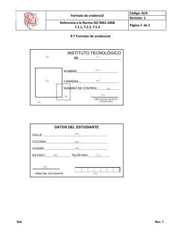 ANEXO 7 FORMATO DE CREDENCIAL.pdf - ITCJ