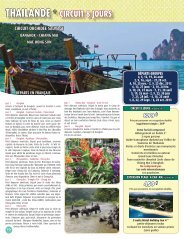 THAILANDE * CIRCUIT 8 JOURS - Voyages Cassis