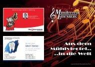 Sternsteinfanfare Danubia Marsch Lottchen Polka Walzer Nr. 2 aus