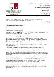 Jungmusikerseminar 2012 - Urfahr-Umgebung