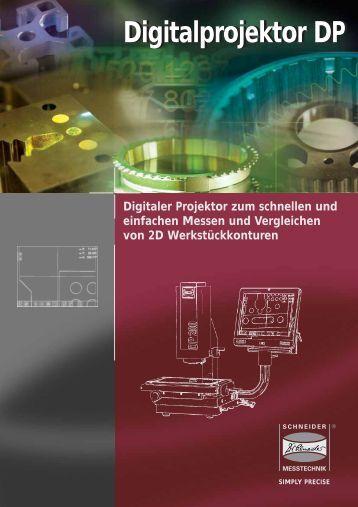 Digitalprojektor DP - Dr. Heinrich Schneider Messtechnik GmbH
