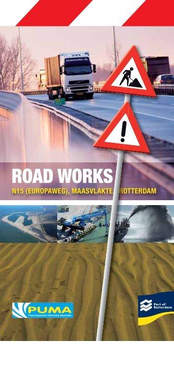 ROAD WORKS - Maasvlakte 2