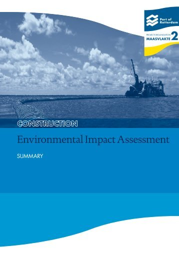 Environmental Impact Assessment - Maasvlakte 2