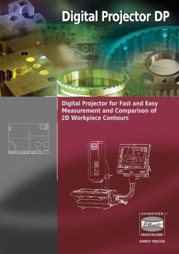 Digital Projector DP Digital Projector DP - Dr. Heinrich Schneider ...