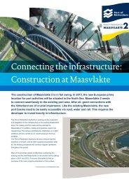 Factsheet Connecting Infrastructure - Maasvlakte