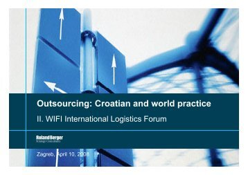 Croatian and world practice by Roland Berger. April ... - ITOnews.eu