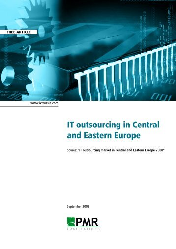 IT Outsourcing in Central and Eastern Europe by PMR ... - ITOnews.eu