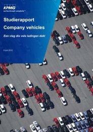 Studierapport - Company vehicles - Een vlag die vele ... - Febiac