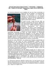 ESTUDIO BIOLÓGICO POBLACIONAL, Y PESQUERO ... - Imarpe