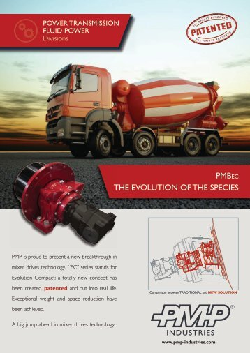 PMBEC THE EVOLUTION OF THE SPECIES - Pmp Industries