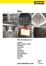 Glas - Nabertherm GmbH