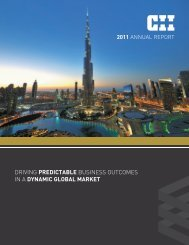 2011 Annual Report - Construction Industry Institute