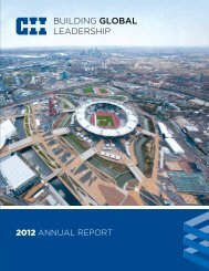 2012 CII Annual Report - Construction Industry Institute