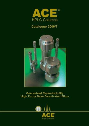 ACE Catalogue 2006/7