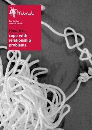 How to cope with relationship problems - Mental Health In The UK