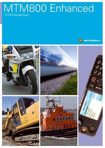 MTM800E Brochure - Motorola Solutions