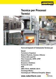 Catalogo Tecnica per Processi Termici - Nabertherm