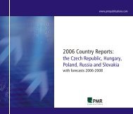Country report - PMR Publications