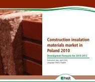 Construction insulation materials market in ... - PMR Publications