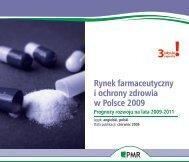Rynek farmaceutyczny i ochrony zdrowia w ... - PMR Publications