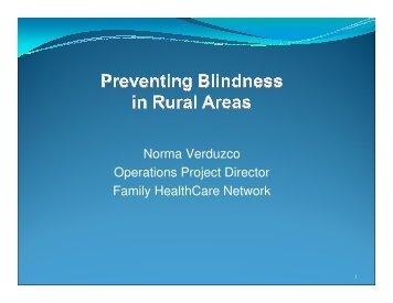 FHCN Blindness Prevention - Safety Net Institute