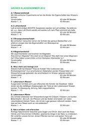 Programmheft 2012 - Klimapark-Rietberg