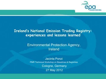 Lessons Learned from Ireland's National Registry