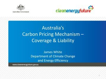 Coverage in Emissions Trading - Australia