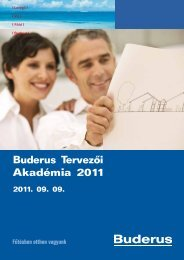 Buderus Tervezői Akadémia 2011