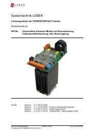 IPxxxx-4100 - Systemtechnik Leber