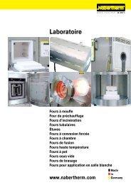 catalogue Laboratoire - Nabertherm