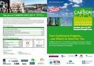 CARBON EXPO 2011 - IETA