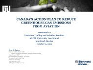 canada's action plan to reduce greenhouse gas emissions ... - IETA