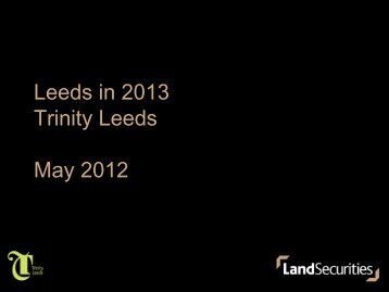 2 Land Securities Trinity - Property Managers Association