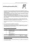 Jahreshauptversammlung 2010 - Nahkampfzentrum Niedernhall - Page 3