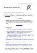 Jahreshauptversammlung 2010 - Nahkampfzentrum Niedernhall - Page 5