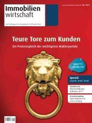 Immobilien wirtschaft - Haufe.de