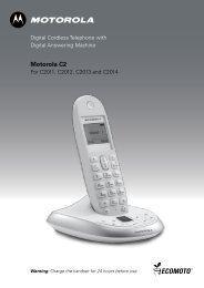 Motorola C2 - Telcom