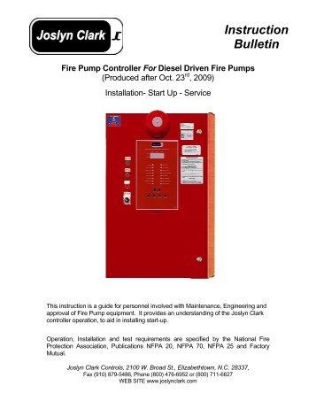 Cool Joslyn Clark Fire Pump Controller Wiring Diagram Somurich Com Wiring Cloud Oideiuggs Outletorg