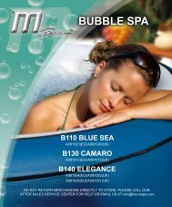 Download Instruction Manual - Bubbelspa