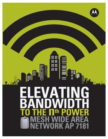 Mesh Wide Area Network AP 7181 - Motorola Solutions