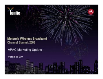 APAC Marketing Update - Home - Wireless Network Solutions