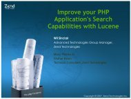 Improve your PHP Application's Search Capabilities with Lucene